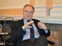Ministerpräsident Reiner Haseloff, Foto W+M